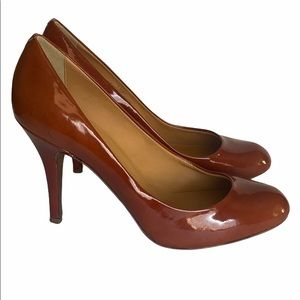 J. Crew Brown High Heels Shoes Size 8.5